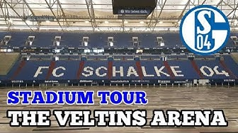 STADIUM TOUR: The Veltins Arena: The Home of FC Schalke 04