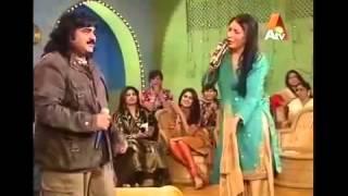 Punjabi Tapy..arif Lohar...with Samina.