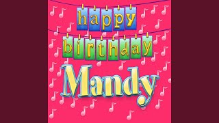 Happy Birthday Mandy (Personalized)