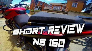 NS 160 !! SHORT Review /new pulsar NS 160/ First impression/ NEPAL / BISBRO /