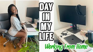 DAY IN MY LIFE | WORKING FROM HOME AS A CUSTOMER SERVICE REP