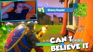 I CAN'T BELIEVE THIS HAPPENED.. (Fortnite Battle Royale)