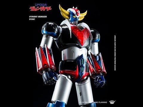 "KING ARTS: GRENDIZER ""DIE CAST FIGURE SERIES"""