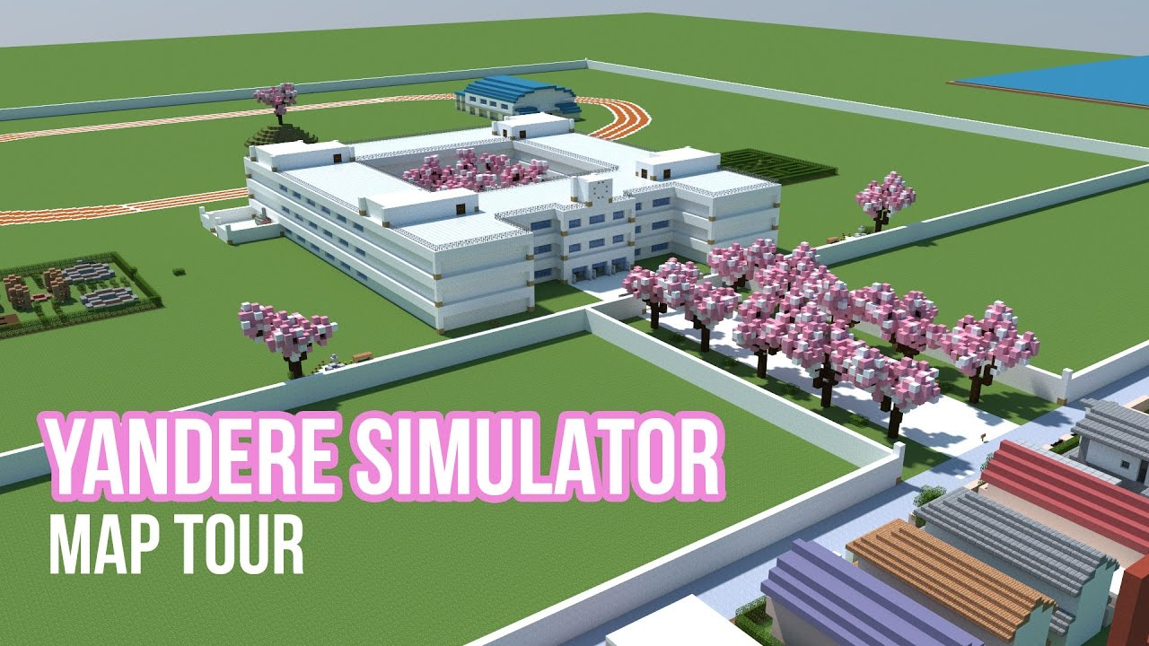How To Build Yandere Simulator School In Minecraft