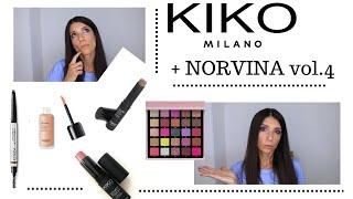 KIKO milano новинки в косметичке Norvina vol 4 еще один вариант макияжа