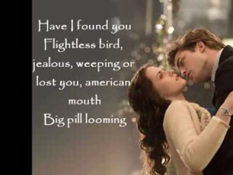 Flightless Bird American Mouth, Ir & Wine  lyrics