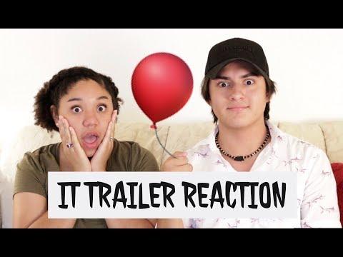 IT Official Trailer #1 Reaction!!