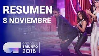 Resumen diario OT 2018 | 8 NOVIEMBRE