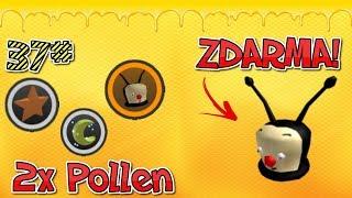 🐝2x polline + HELMA ZDARMA🍯 / 37 ep / ROBLOX / ape sciame Simulator / jurasek05