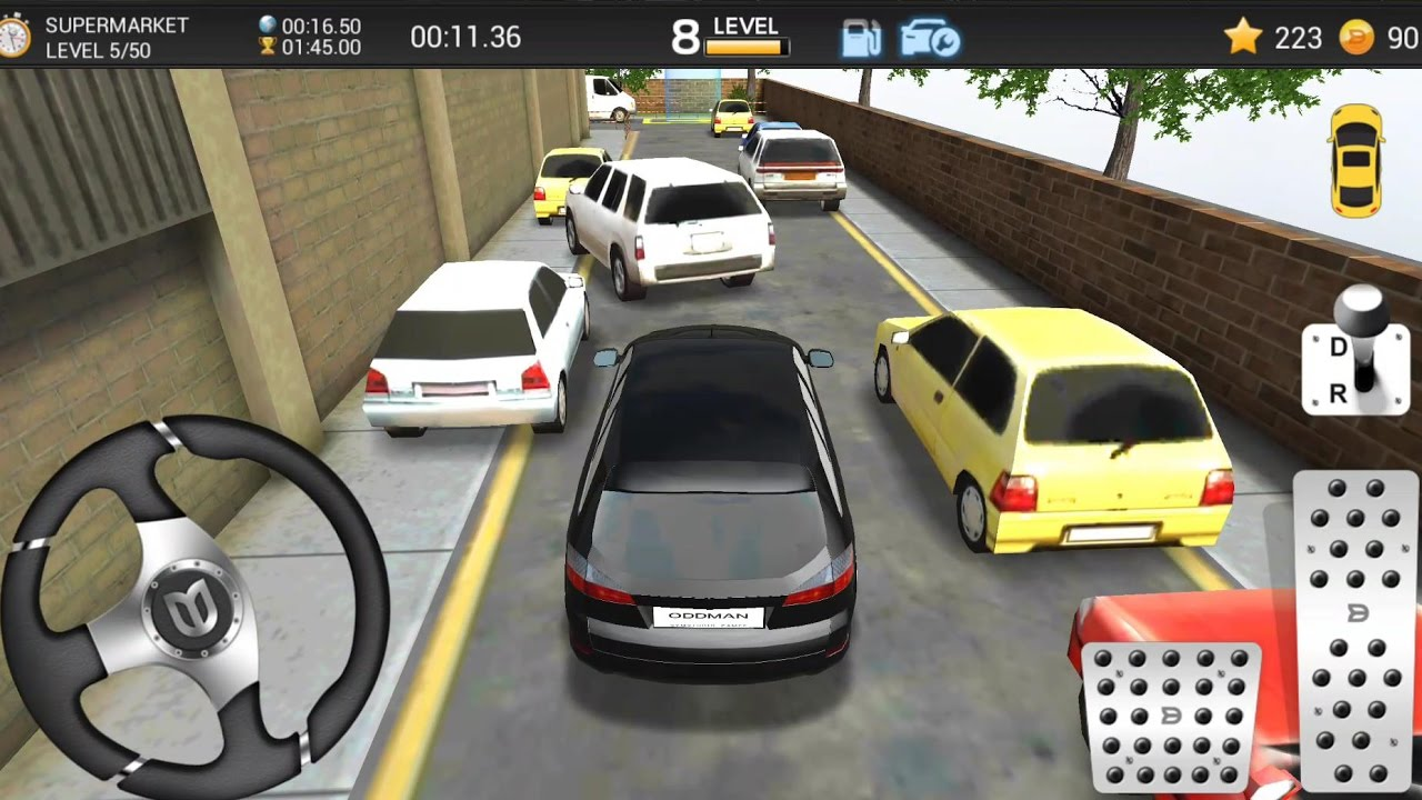 Car Parking Game 3d 5 New Car At Supermarket Android Ios