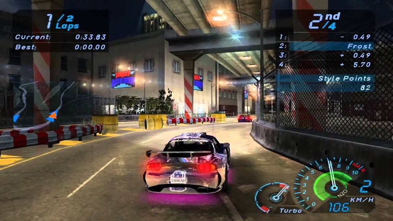 Sprint Car Wallpapers Free Nfs Underground 2003 Gameplay Hd 1080p Youtube