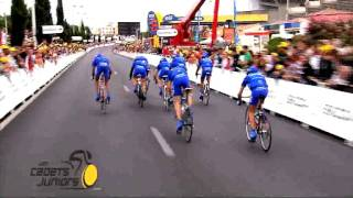 Les Cadets-Juniors du Tour de France 2011