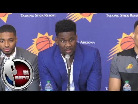 Deandre Ayton introductory press conference with Suns (w/Mikal Bridges & other picks) | NBA on ESPN
