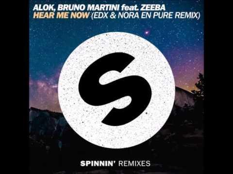 Alok Bruno Martini feat Zeeba - Hear Me Now EDX & Nora En Pure Remix