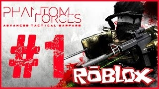 EPISODE #1 - RANK 1 || PHANTOM FORCES || Roblox