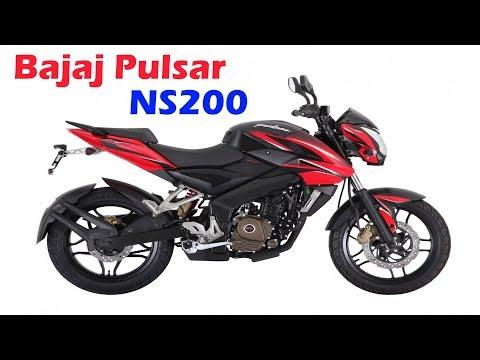 Обзор мотоцикла BAJAJ Pulsar 200NS