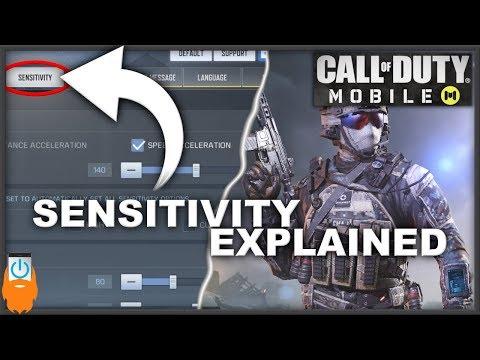 Sensitivity Explained - COD Mobile