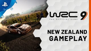 WRC 9 FIA World Rally Championship - New Zealand Gameplay Trailer | PS4, PS5