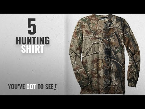 Top 10 Hunting Shirt [2018]: Joe's USA(tm) - Realtree Explorer 100% Cotton Pocket Long Sleeve
