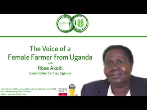 The Voice of a Female Farmer from Uganda, with Rose Akaki