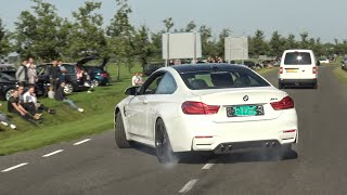 Cars Leaving Deutsche AutoFest, CRAZY DRIFTS! 700HP M140I, 680HP TT-RS, M5 E60, GTi/R, Diesels ETC!