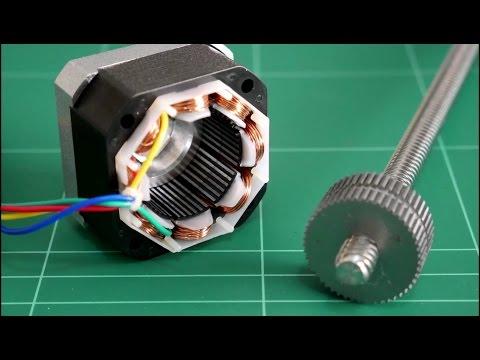 3D Printer stepper motor mod - YouTube