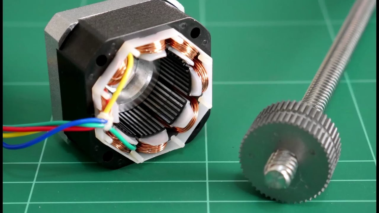 3d Printer Stepper Motor Mod Youtube