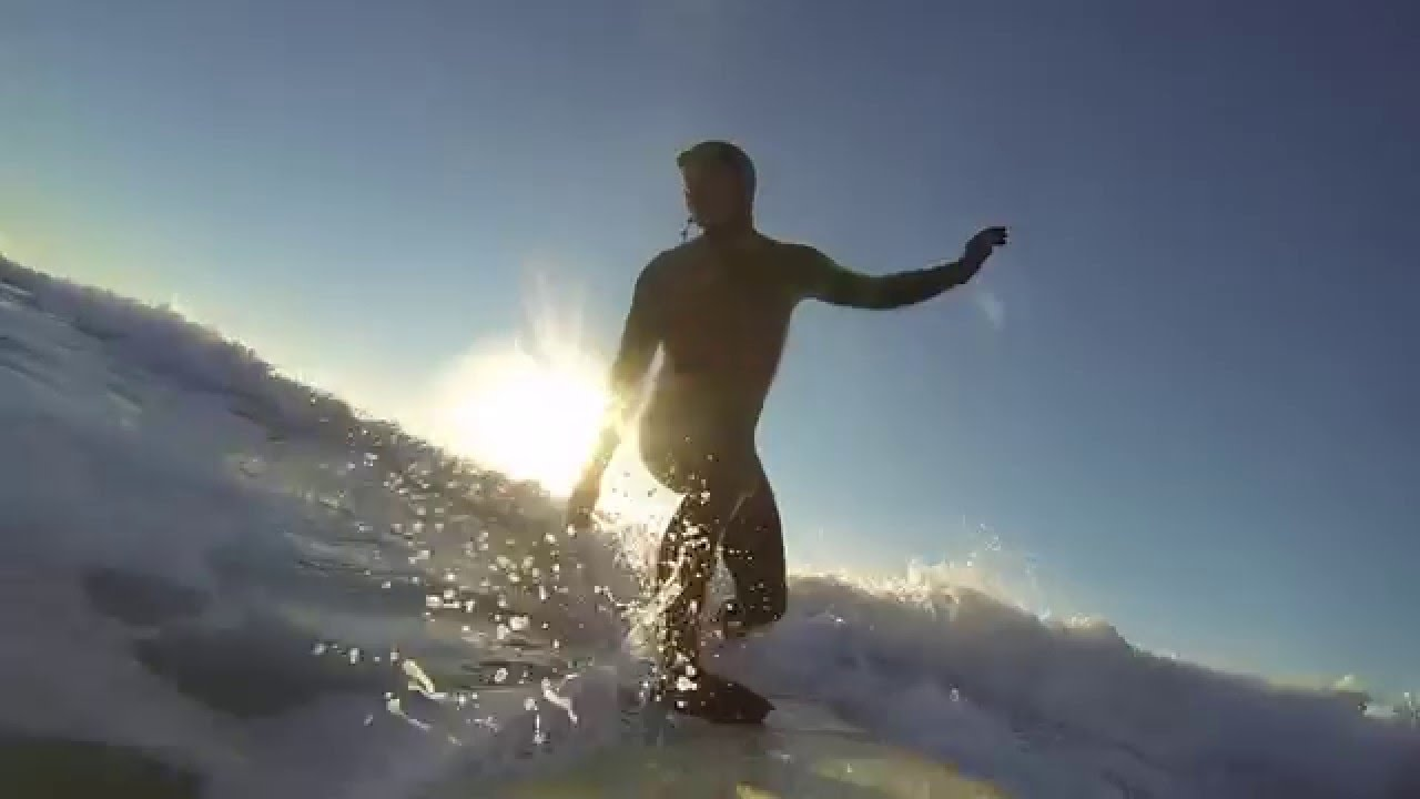 Otter Rock Oregon Surf Dec 2015 - YouTube