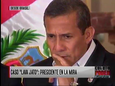 Ollanta Humala habría recibido US$3 millones ''sobornos'' de la empresa brasileña Odebrecht