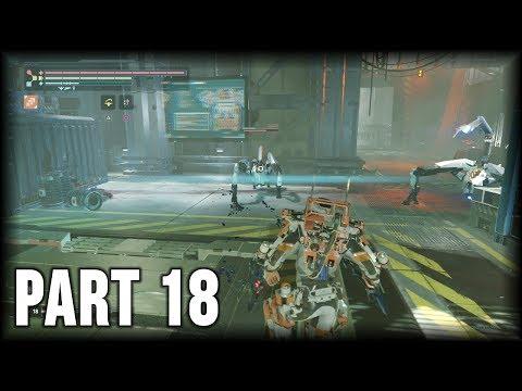 The Surge - 100% Walkthrough Part 18 [PS4] – Central Production B 3rd Visit (NG+)