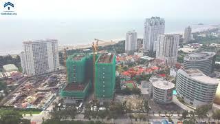 [THE SÓNG OFFICIAL] Tiến độ căn hộ du lịch biển The Sóng - Vũng Tàu tháng 10/2020