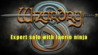 Wizardry 8 solo expert walkthrough with faerie ninja, part 1