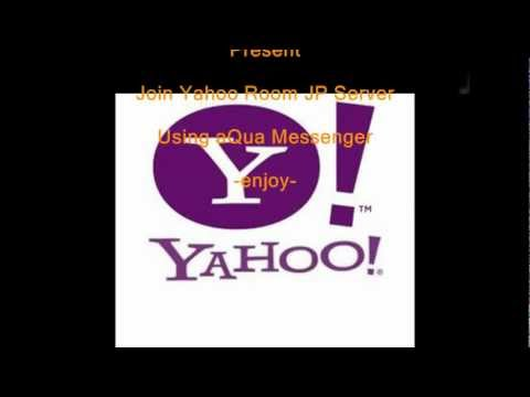Join Yahoo Japan Chat Room Using AQua Messenger (Beta)