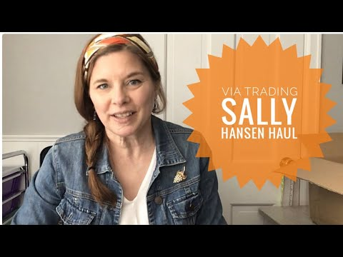 Via Trading Unboxing!! Sally Hansen Liquidation Haul // I Bought 225 Pieces// $547 Projected Profit!