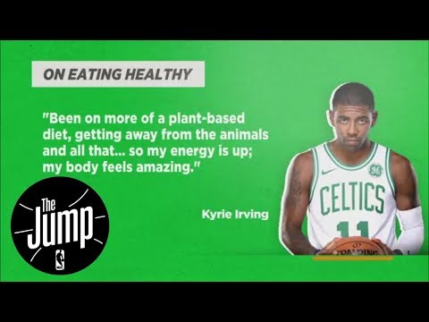 Will more NBA players go vegan/vegetarian like Kyrie Irving and Damian Lillard? | The Jump | ESPN
