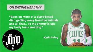 Video Will more NBA players go vegan/vegetarian like Kyrie Irving and Damian Lillard?   The Jump   ESPN download MP3, 3GP, MP4, WEBM, AVI, FLV November 2017