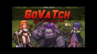 Valkyrie + Witch: VALKYRIE SLAP TH9 STRONG WAR ATTACK STRATEGY 2017 | Clash of Clans