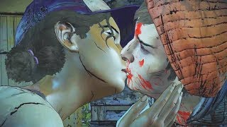 Gabentine - Clem Kisses Gabe - The Walking Dead Season 3 Episode 5