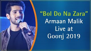 Watch Armaan Malik performing live- Bol Do Na Zara from movie Azhar