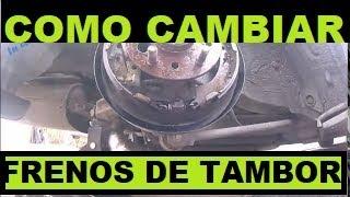 Video Como Cambiar Los Frenos Traseros De Tambor  En  Mi Carro download MP3, 3GP, MP4, WEBM, AVI, FLV Oktober 2018