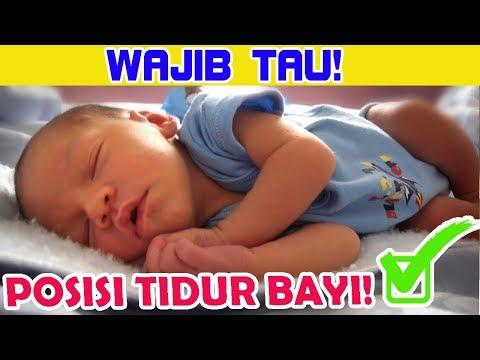 WAJIB TAU! Posisi Tidur Yang Paling Baik Untuk Bayi Agar Tidur Nyenyak