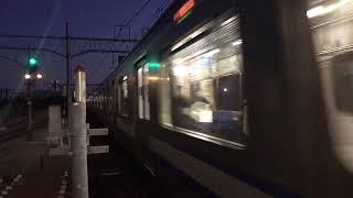 横須賀線E217系到着&湘南新宿ラインE231系発車 【武蔵小杉駅】