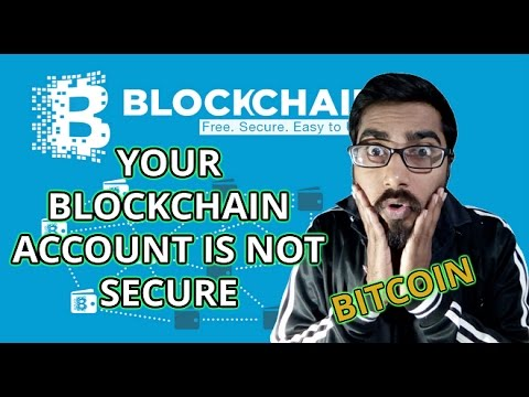 Blockchain | How to secure your blockchain account | Blockchain backup recovery phrase | Bitcoin