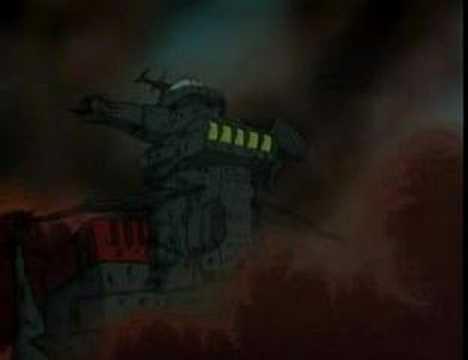 Starblazers Yamato - Zordar Space Fortress
