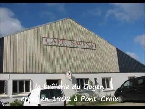 Creperie An dol Breizh - Audierne - Visite de la Brulerie du Goyen - Cafés Savina à Pont Croix