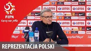 Konferencja po meczu z Nigerią (Wrocław, 23.03.2018)