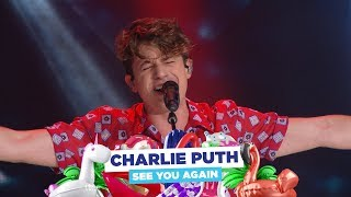 Charlie Puth See You Again Live At Capital S Summertime Ball 2018