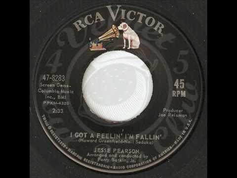 JESSE PEARSON I ve Got a Feelin I m Fallin RCA
