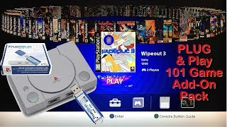Add 101 Games To Your PS Classic - Plug & Play No Downloads