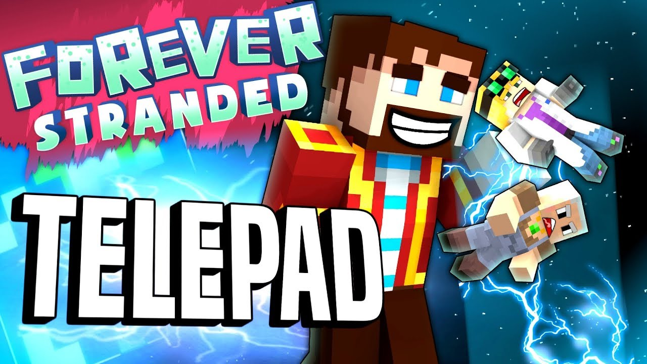 Minecraft Telepad Forever Stranded 86 Youtube How Should I Design A Powered Rail Station Arqade